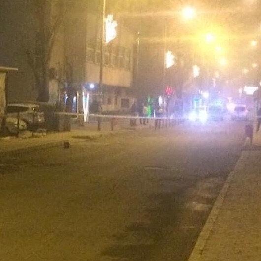 Cadde üzerine bırakılan akü bomba paniğine yol açtı