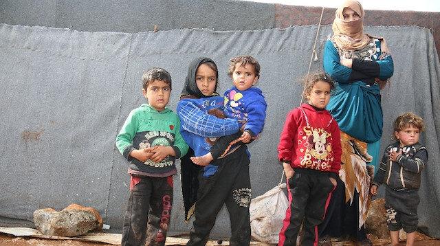 Bir buçuk milyon Suriyeli kamplarda: İdlib'de 50 bin briket ev Haziran'da bitirilecek