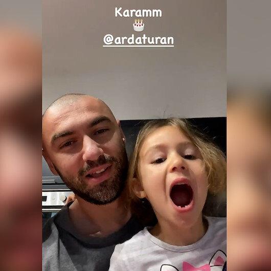 Burak Yılmaz, kızlarıyla çektiği video ile Arda Turanın doğum gününü kutladı