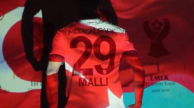 Trabzonspor'dan anlamlı Yunus Mallı paylaşımı