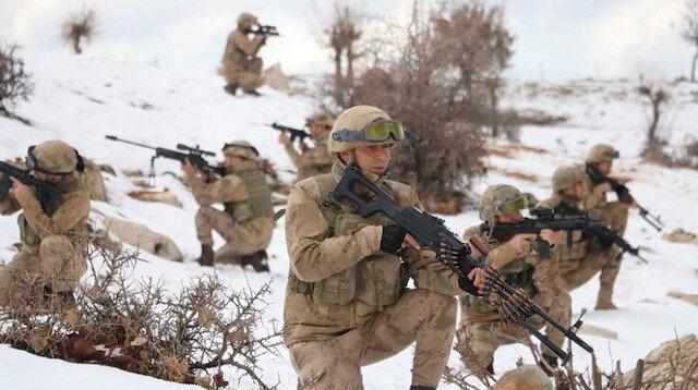 Bitlis ve Siirt illerinde 'Eren -6 Mergelo' Operasyonu başladı