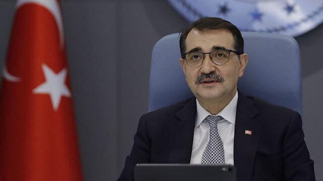 Enerji ve Tabii Kaynaklar Bakanı Dönmez: İlk hedefimiz Akdeniz'de de bir keşif gerçekleştirmek