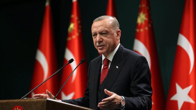Cumhurbaşkanı Erdoğan: Öğrenci çekme yarışında dünyada ilk 10'dayız