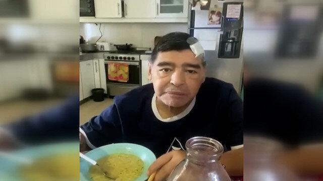 Diego Maradona'nın ölmeden önceki son görüntüleri ortaya çıktı