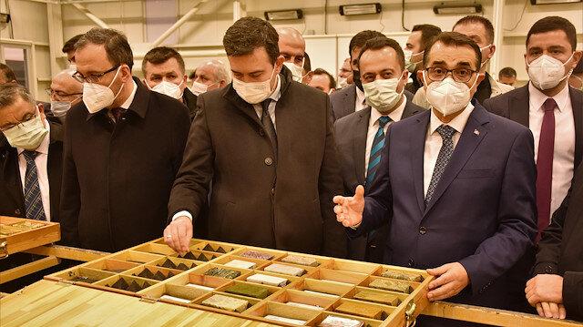 Bakan Dönmez Söğüt'te ilk altın üretimi için tarih verdi: Artık tonlarla ifade ediyoruz
