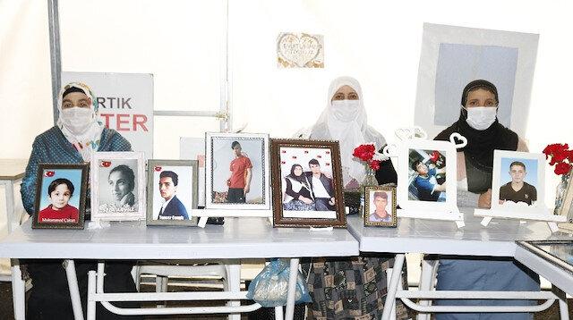 Evlat nöbetinde 521'nci gün: Aileler, çocuklarını PKK'dan almakta kararlı