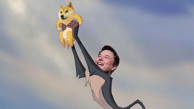 Elon Musk'tan yeni bir paylaşım daha: Dogecoin halkın kripto parası