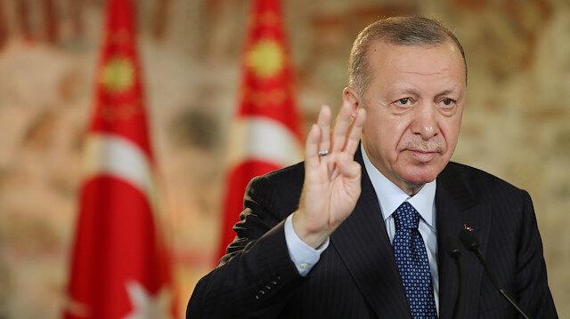 Cumhurbaşkanı Erdoğan: Türkiye'nin büyümesini istemeyenler mega projelerin durdurulmasını istiyor