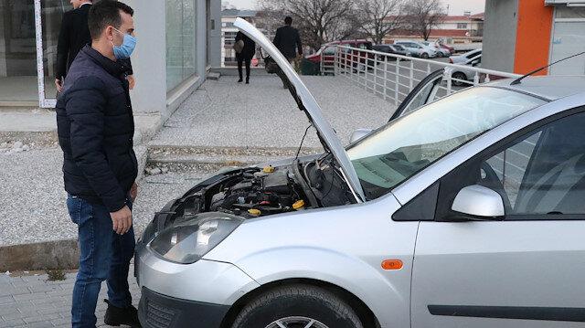 Ekspertiz raporunda 'tek parça değişeni var' denildi: Otomobilin yarısı başka araca ait çıktı