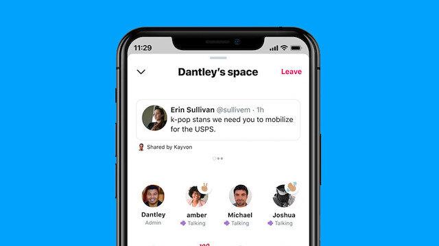 Twitter'ın sesli iletişim özelliği Spaces Android'e de geliyor