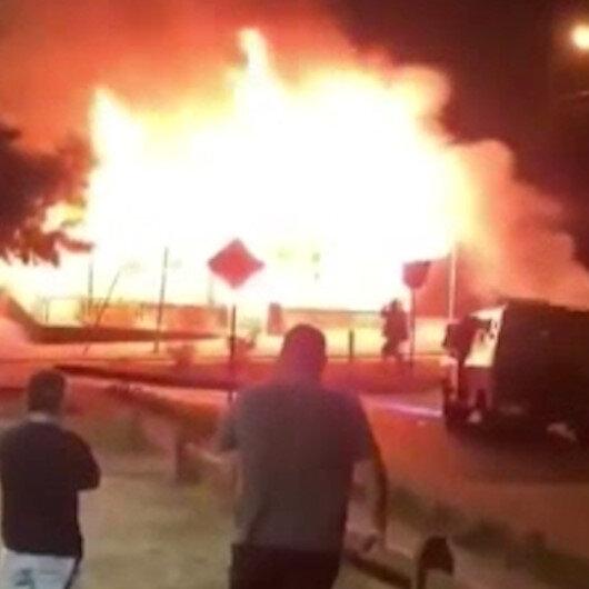 Şili polisi jonglörü sokak ortasında öldürdü: Göstericiler belediye binasını ateşe verdi