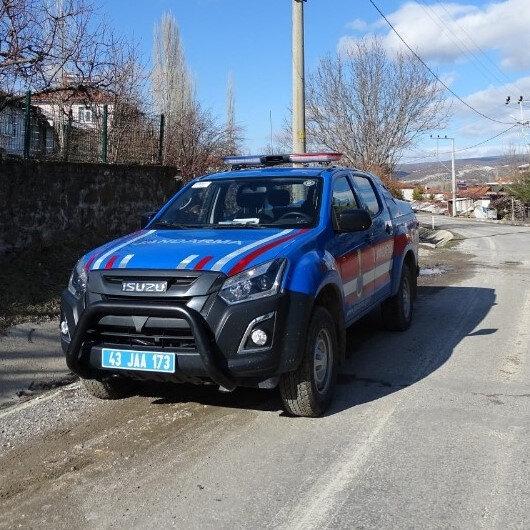 Kütahya'da bir köy 10 gün süreyle giriş çıkışlara kapatıldı