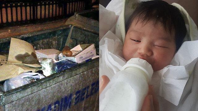 Bir haftalık bebek çöpe bırakılmıştı: Annesi yakalandı