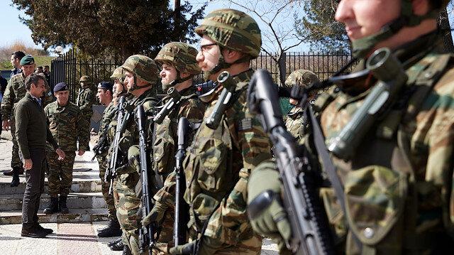 Yunanistan'da kriz: Sınırdaki askerin 6 aydır maaşı ödenmiyor