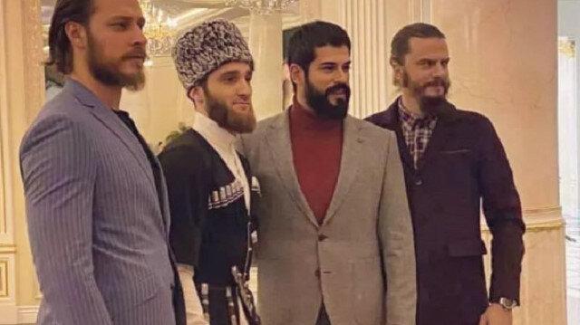 Kuruluş Osman ekibi Çeçenistan'a gitti