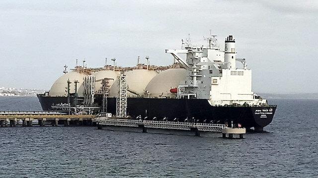 Dünyanın en büyük sıvılaştırılmış gaz taşıyan gemisi Tekirdağ'da