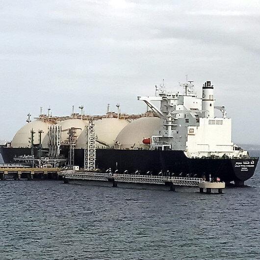 Dünyanın en büyük sıvılaştırılmış gaz taşıyan gemisi Tekirdağda