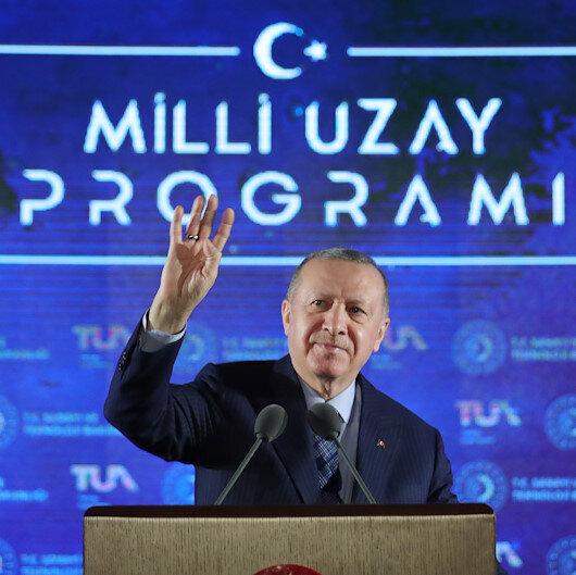 Cumhurbaşkanı Erdoğandan heyecanlandıran açıklama: Uzaya Türk vatandaşı göndereceğiz
