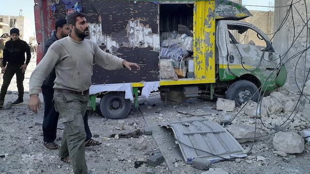 Suriye'nin Bab ilçesine balistik füze saldırısı: İki kişi hayatını kaybetti