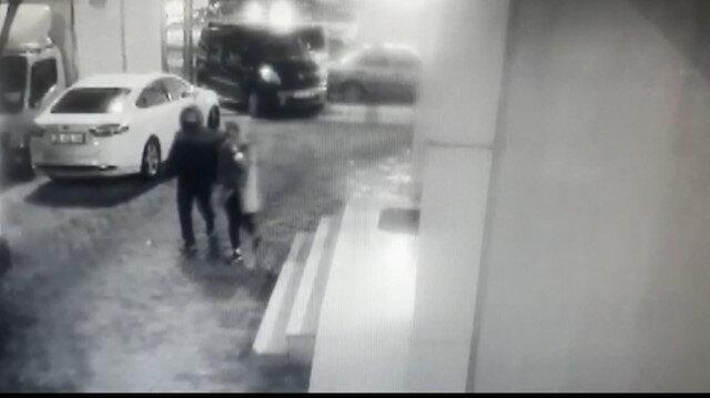 Şiddetli fırtınada düşen balkon camından saniyelerle kurtuldular
