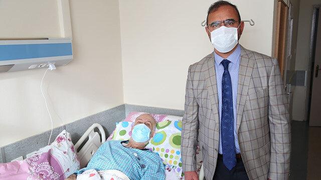 Almanya'da tedaviden sonuç alamayan kanser hastasına Sivas'ta şifa buldu: 'Allah'a şükür çok memnunum'