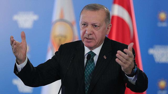 Cumhurbaşkanı Erdoğan: Türkiye'yi 10 büyük ülke arasına sokacağız