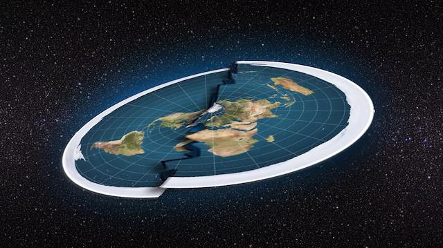 'Sinirlenmiş İskoç' düz dünyacıları uzaya yollamak istiyor