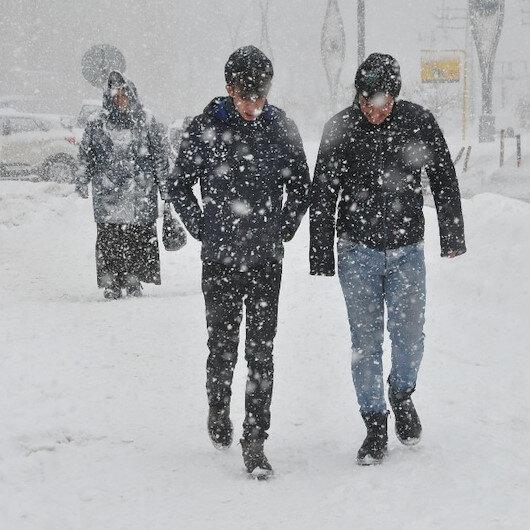 Meteorolojiden 7 il için soğuk hava ve kar yağışı uyarısı