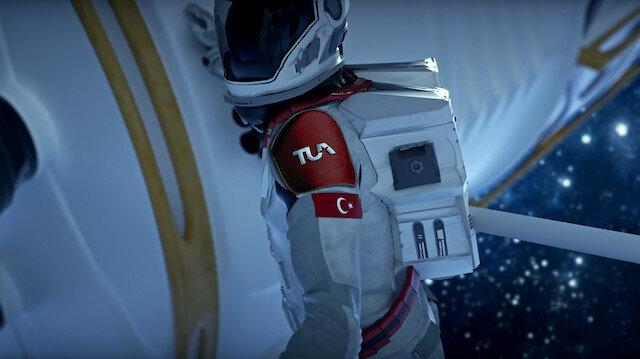 Türkiye Uzay Ajansının logosunda dikkat çeken detay