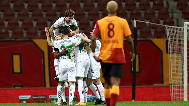 Galatasaray kupaya veda etti: Alanyaspor yarı finalde