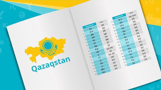 Kazakistan'ın Latin alfabesine geçiş çalışmaları