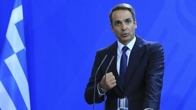 Yunan Başbakan Miçotakis'ten hadsiz açıklama: Dünya bizim yanımızda