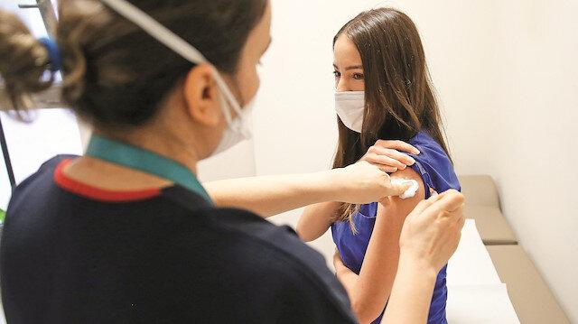 Aşıda ikinci doz başladı