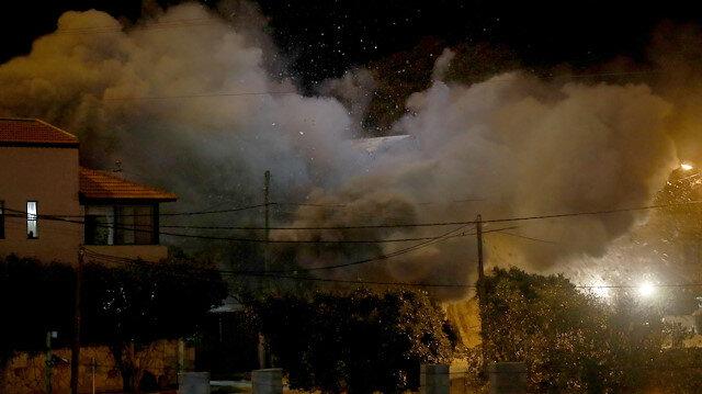 İşgalci İsrail Filistinli esirin evini havaya uçurdu