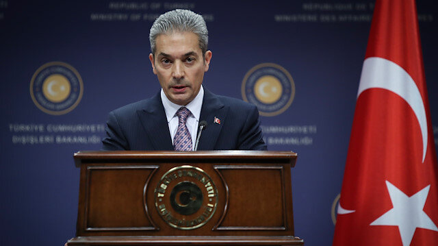Dışişleri Bakanlığı'ndan Yunan-Rum ikilisine sert tepki