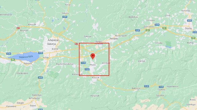 Sakarya Akyazı deprem ile sarsıldı! Kandilli Son Depremler 11 Şubat 2021 Perşembe