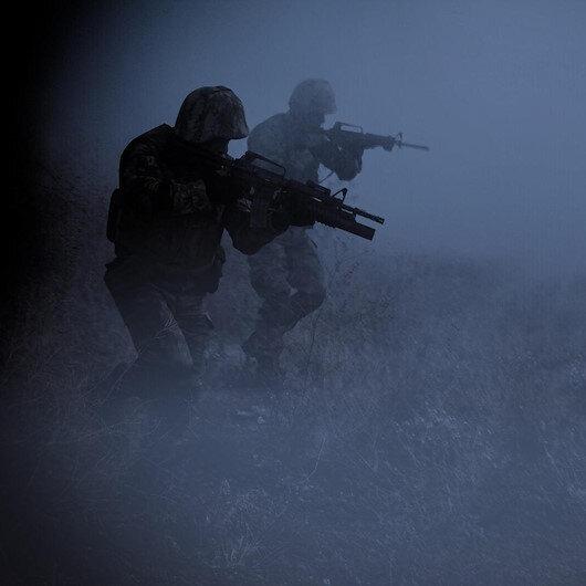 Barış Pınarı bölgesine sızmaya çalışan 2 terörist etkisiz hale getirildi