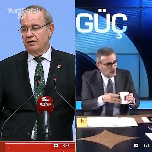 CHP Sözcüsü Öztrak Yeterince büyük bir yalanı söylerseniz insanlar inanmaya başlar dedikten sonra AK Partili Ünal hakkındaki asılsız bardak söylemini dile getirdi