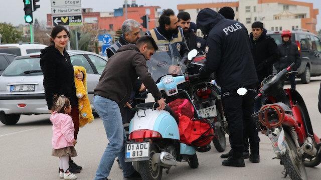 Ülke genelinde eş zamanlı 'trafik, motosiklet ve traktör uygulaması'