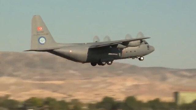 Test uçuşları tamamlanan sekizinci C-130 uçağı Hava Kuvvetleri'ne teslim edildi