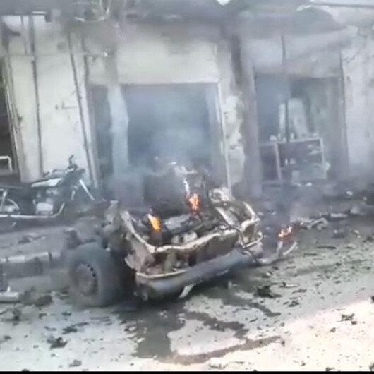 Çobanbey'de bomba yüklü araçla terör saldırısı: Bir ölü 12 yaralı