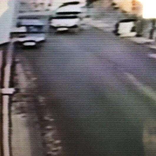El freni çekilmeyen minibüs ortalığı savaş alanına çevirdi