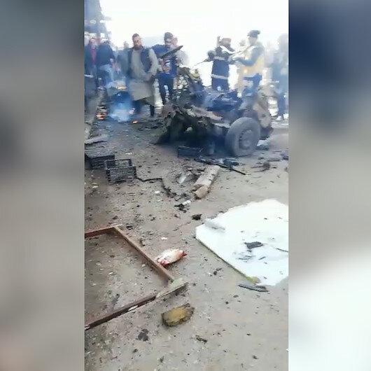 Çobanbeyde PKK/YPGden hain saldırı: Bomba yüklü araçla yapılan terör saldırısında 1 kişi öldü, 4 kişi yaralandı