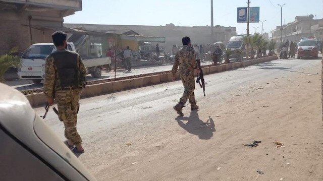 PKK Afrin'de sivilleri hedef aldı: 1 ölü 4 yaralı