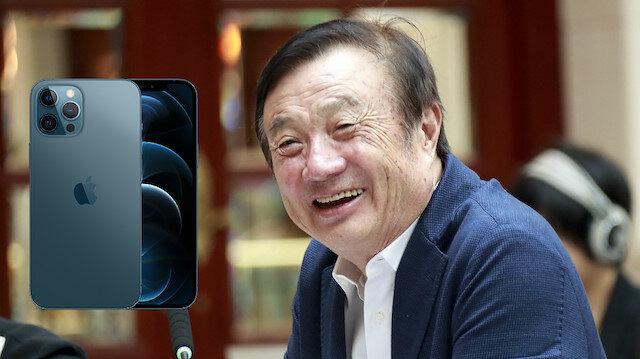 Huawei CEO'su: Dünyanın en iyi 5G telefonu iPhone 12