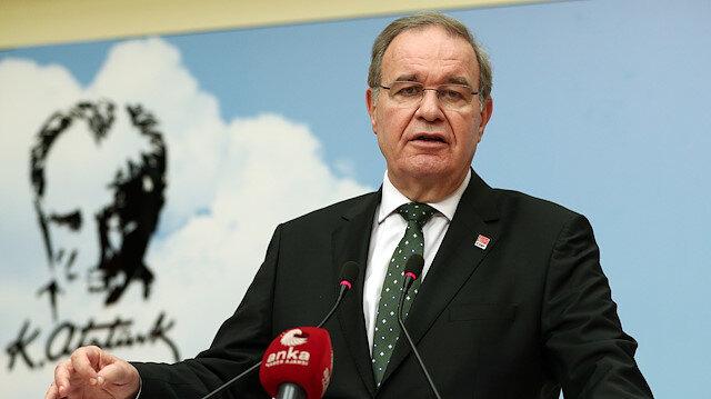 CHP Sözcüsü Öztrak: Terör örgütü propagandası yapmamak için 'PKK' demiyoruz