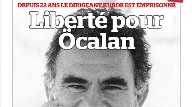 """Gara şehitlerini görmezden gelen Fransızlardan """"Öcalan'a özgürlük"""" naraları"""