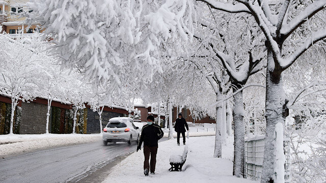AKOM: Kar kalınlığı 30 santimetreye kadar çıktı