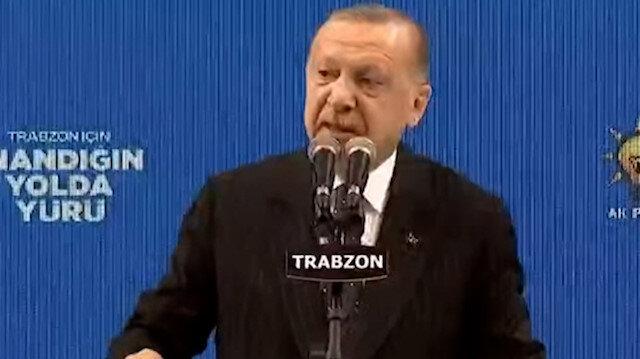 Cumhurbaşkanı Erdoğan: Güvenli hale getirdiğimiz yerlerde ne kadar gerekiyorsa o kadar kalacağız