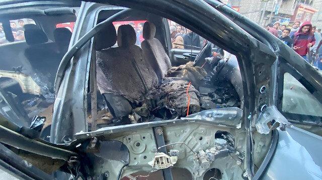 El Bab'da bombalı terör saldırısı: Ölü ve yaralılar var